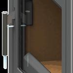 Detail-deur